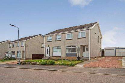 3 Bedrooms Semi Detached House for sale in Hyndshaw View, Law, Carluke, South Lanarkshire