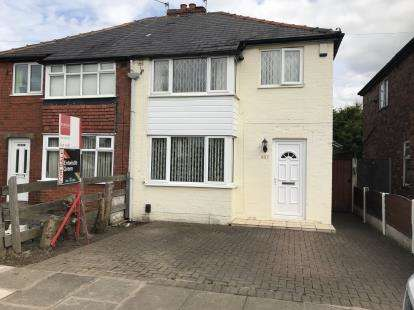 3 Bedrooms Semi Detached House for sale in Whitefield Road, Redvales, Bury, Greater Manchester, BL9