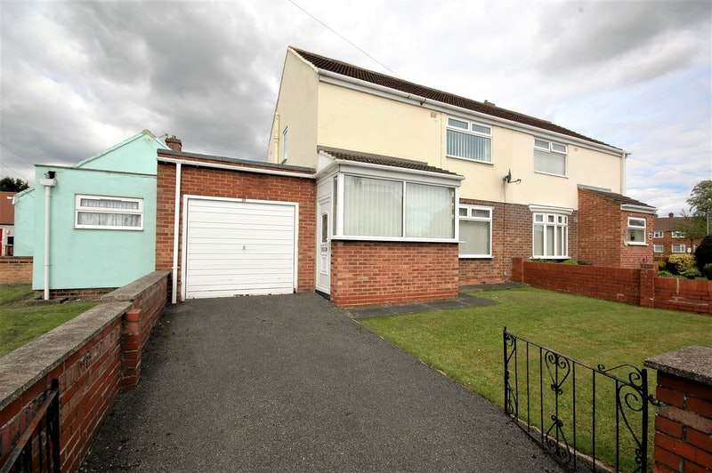 2 Bedrooms Semi Detached House for sale in margaret court, bowburn, County Durham, DH6