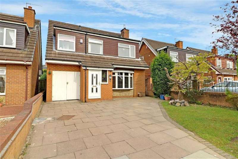 4 Bedrooms Detached House for sale in Cadeby Grove, Milton, Stoke-on-Trent