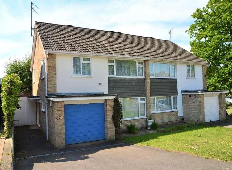 3 Bedrooms Semi Detached House for sale in Partridge Drive, Tilehurst, Reading, Berkshire, RG31