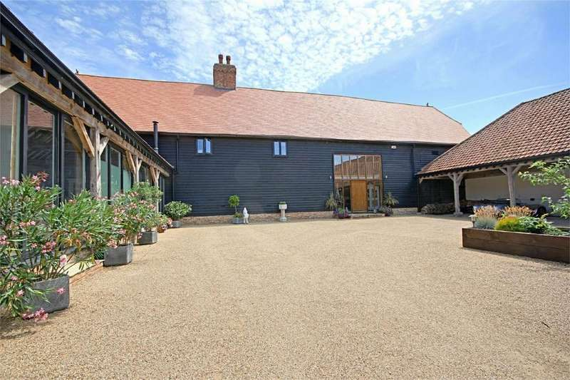 4 Bedrooms Detached House for sale in Two Hoots, Envilles Barns, Little Laver, ONGAR, Essex