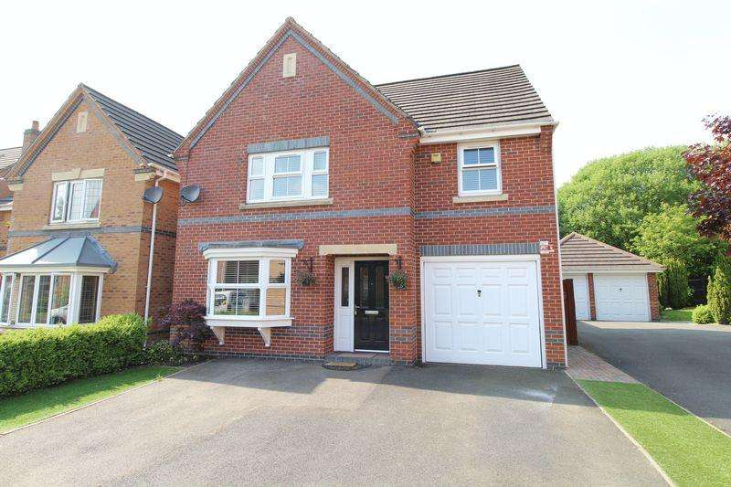 4 Bedrooms Detached House for sale in Curlew Drive, Watermead Grange, Brownhills