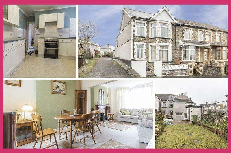 3 Bedrooms End Of Terrace House for sale in Moorland Road, Bargoed - REF #00003987