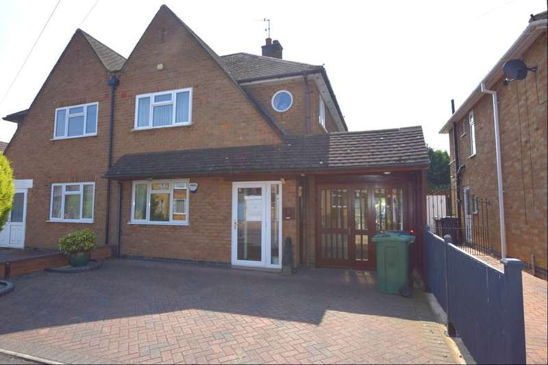 4 Bedrooms Semi Detached House for sale in Westgate Avenue, Birstall, Leicester, LE4