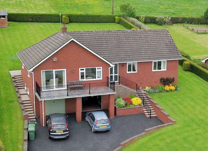 3 Bedrooms Detached Bungalow for sale in Pines Walk, Church Lane, Bishops Castle SY9