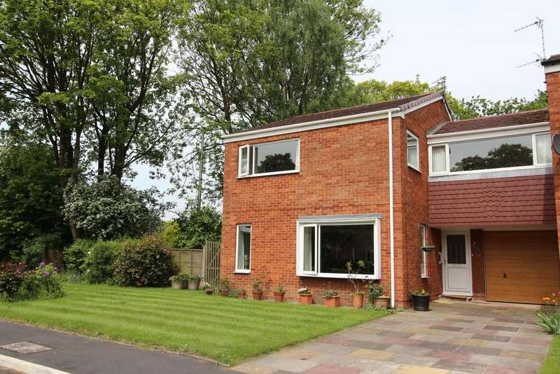 4 Bedrooms Link Detached House for sale in Pinewood Close, Heaton Mersey