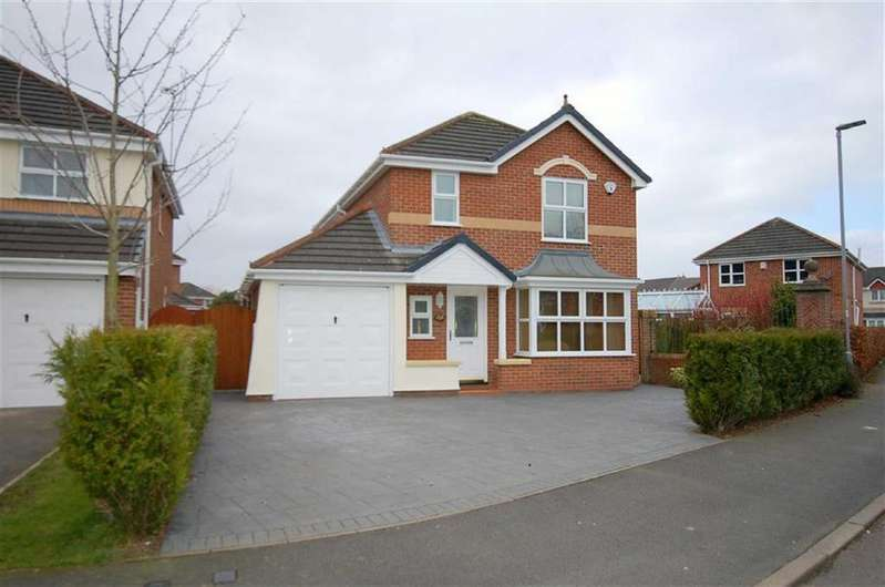 4 Bedrooms Detached House for sale in Thorn Tree Drive, Leighton, Crewe