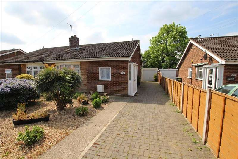 2 Bedrooms Semi Detached Bungalow for sale in Holme Court Avenue, Biggleswade, SG18