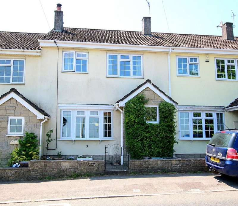 3 Bedrooms Terraced House for sale in Sunny home in the heart of Blagdon village