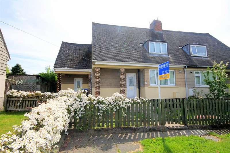 2 Bedrooms Semi Detached House for sale in Oakridge Road, Ushaw Moor, Durham