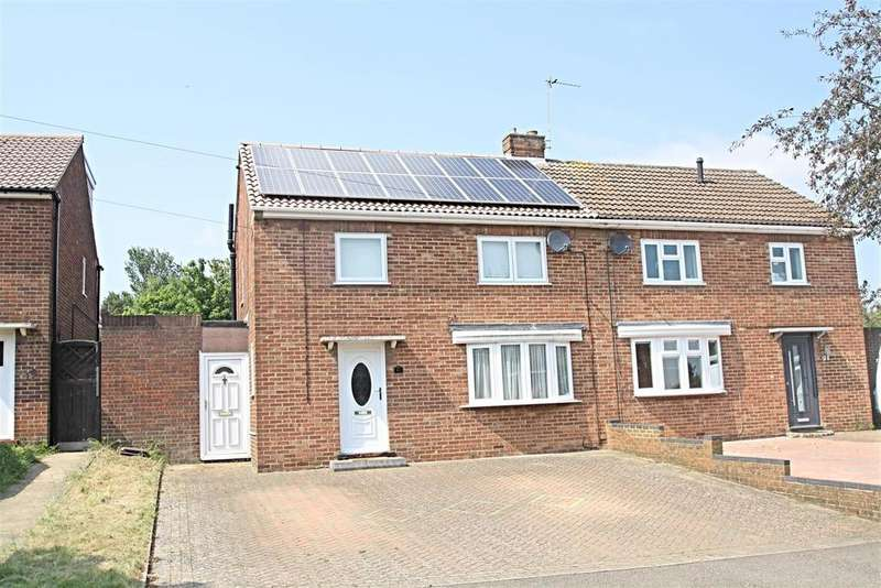 3 Bedrooms Semi Detached House for sale in St. Catherines Avenue, Bletchley, Milton Keynes