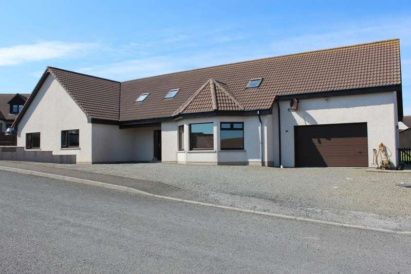 4 Bedrooms Detached House for sale in Kirkjuvagr, 22 Soulisquoy Place, Kirkwall, Orkney KW15