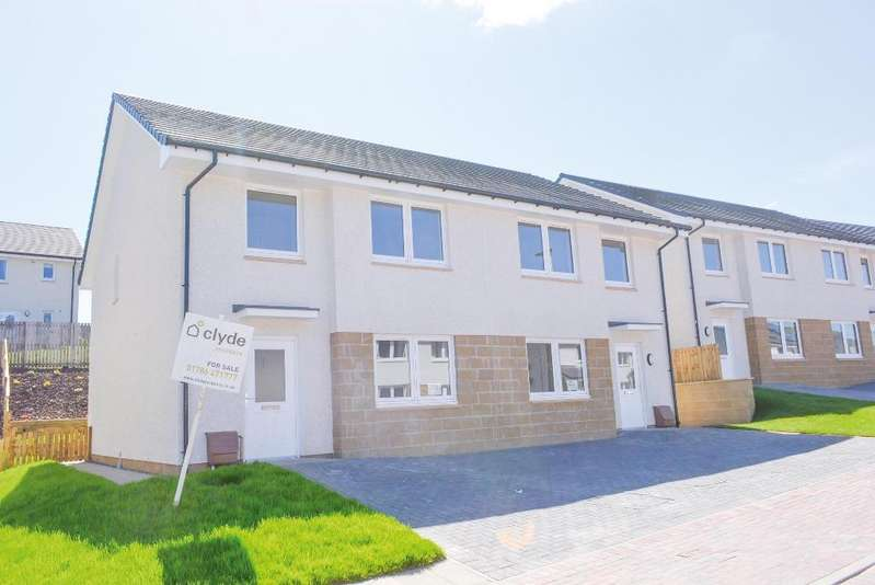 4 Bedrooms Semi Detached House for sale in 9 Dunmoss View, Coalsnaughton, Stirling, FK13 6BF