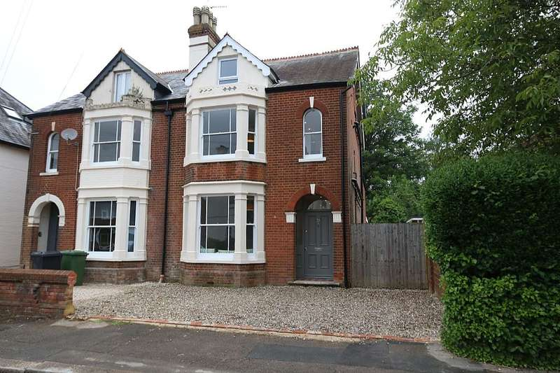 5 Bedrooms Semi Detached House for sale in Cromwell Road, Basingstoke, Hampshire, RG21 5NR