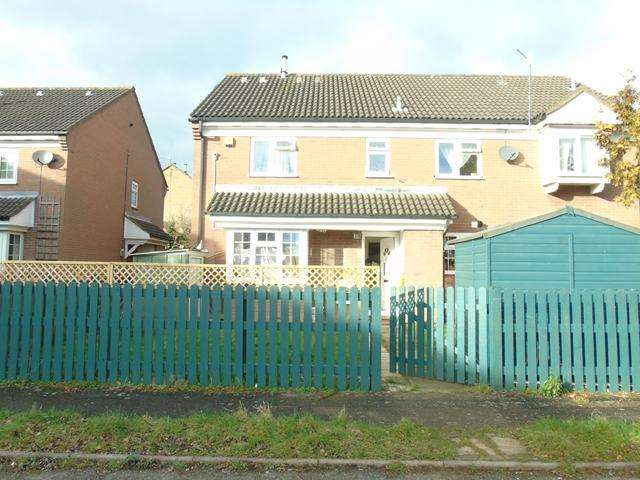 2 Bedrooms Cluster House for sale in Lovely 2 bedroom house Biscot area! LU3 1XH