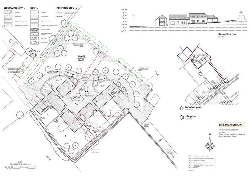Plot Commercial for sale in Noak Hill Road, Romford, Essex, RM3