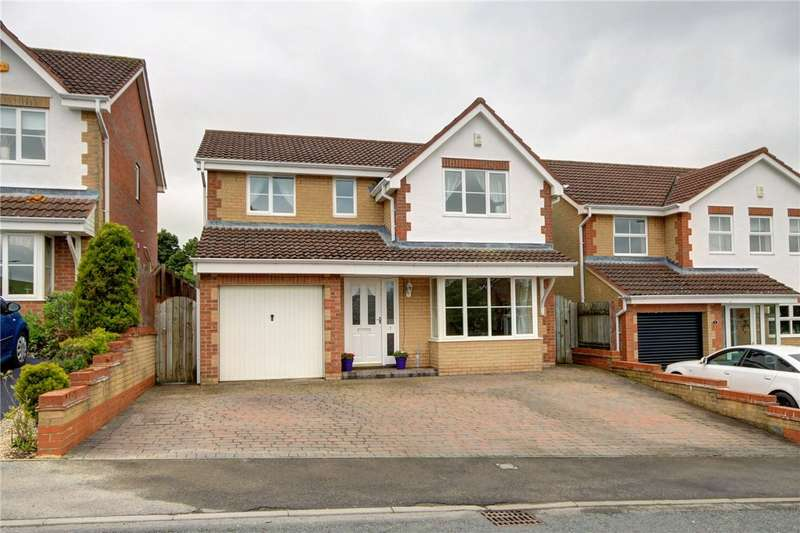 4 Bedrooms Detached House for sale in Muirfield Close, Blackhill, Consett, DH8