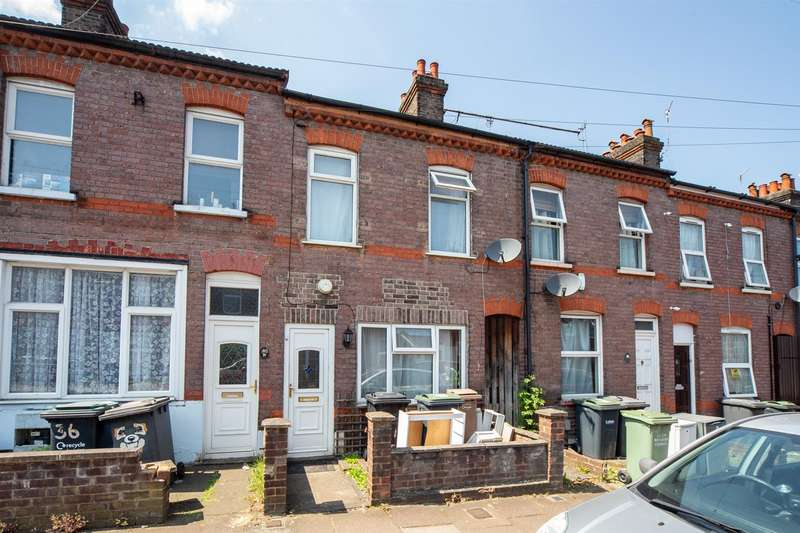 2 Bedrooms Terraced House for sale in St Peters Road, Luton