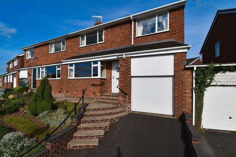 3 Bedrooms Semi Detached House for sale in Semper Close, Congleton
