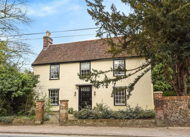 5 Bedrooms Detached House for sale in Tut Hill, Fornham All Saints, Bury St Edmunds, Suffolk, IP28