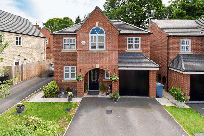 4 Bedrooms Detached House for sale in Parkside Place, Congleton