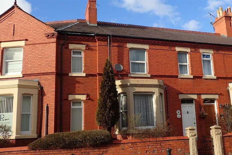 4 Bedrooms Terraced House for sale in Ruabon Road, Wrexham