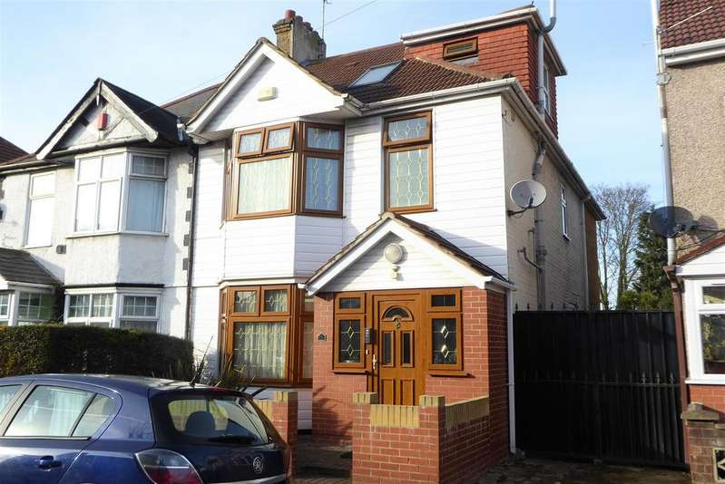 5 Bedrooms Semi Detached House for sale in Cambridge Road, Hounslow
