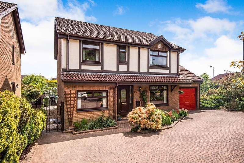 4 Bedrooms Detached House for sale in Muirfield Road, Westerwood, Cumbernauld, G68