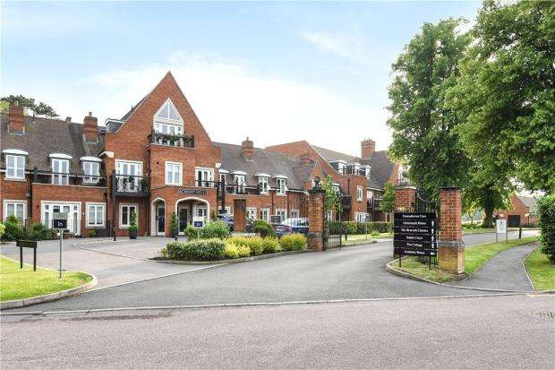 3 Bedrooms Retirement Property for sale in Academy House, Woolf Drive, Wokingham