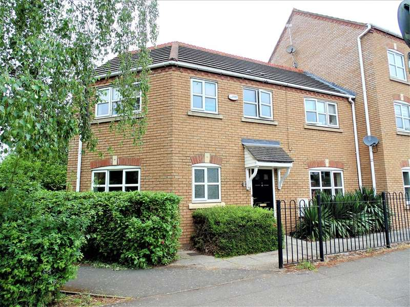 3 Bedrooms End Of Terrace House for sale in North End, Higham Ferrers, Northants, NN10 8NQ