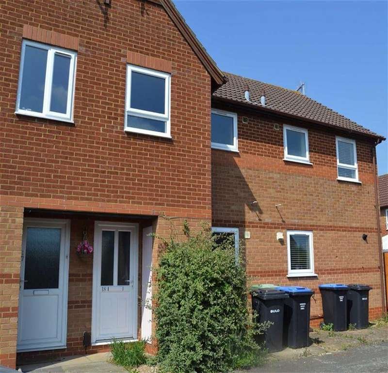 2 Bedrooms Terraced House for sale in Pear Tree Gardens, Pear Tree Gardens, Market Harborough, Leics