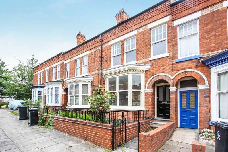 3 Bedrooms Terraced House for sale in Daneshill Road, Leicester, LE3