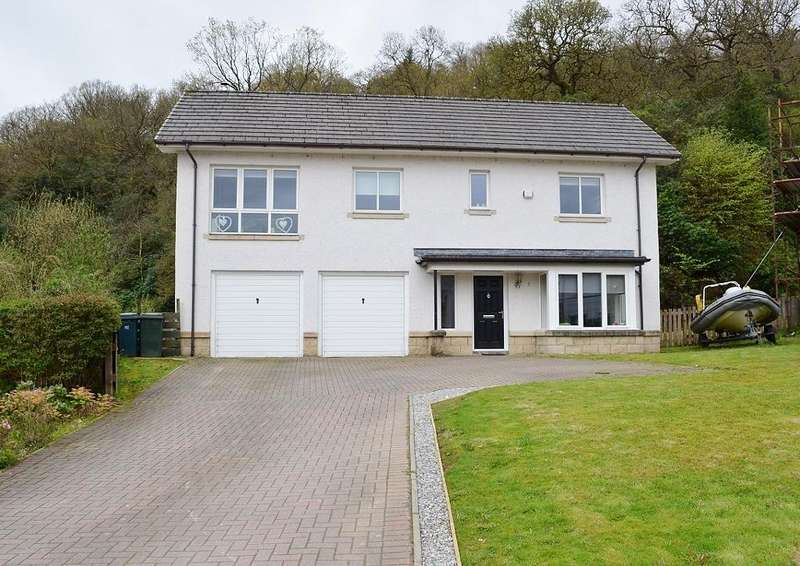 4 Bedrooms Detached House for sale in McKinlays Quay, Sandbank, Argyll and Bute, PA23 8NZ