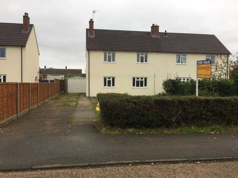 3 Bedrooms Semi Detached House for sale in Waresley Road, Gamlingay, Bedfordshire SG19
