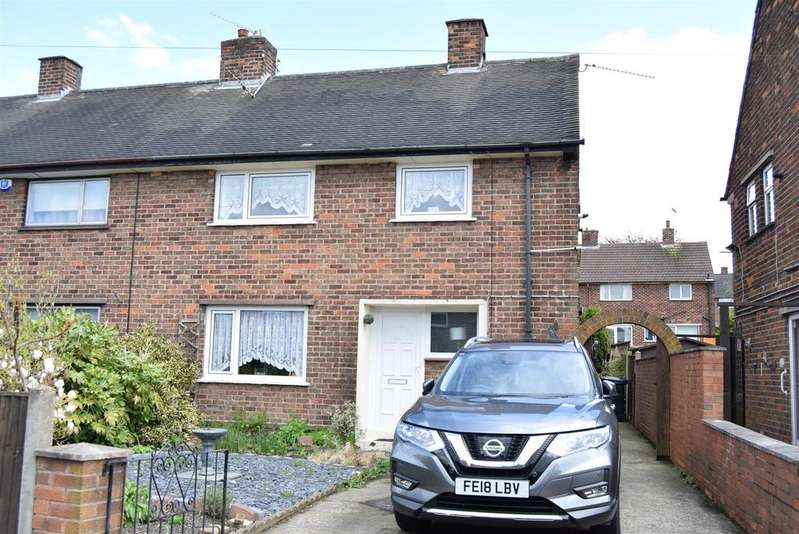 3 Bedrooms Semi Detached House for sale in Lathkill Grove, Tibshelf