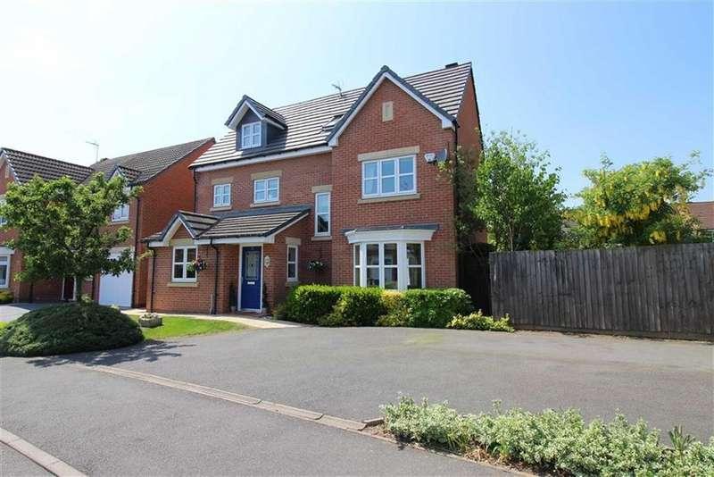 5 Bedrooms Detached House for sale in Darraway Gardens, Chellaston, Derby