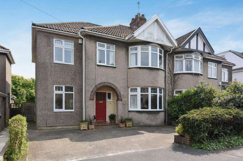 5 Bedrooms Semi Detached House for sale in Queens Drive, Bishopston