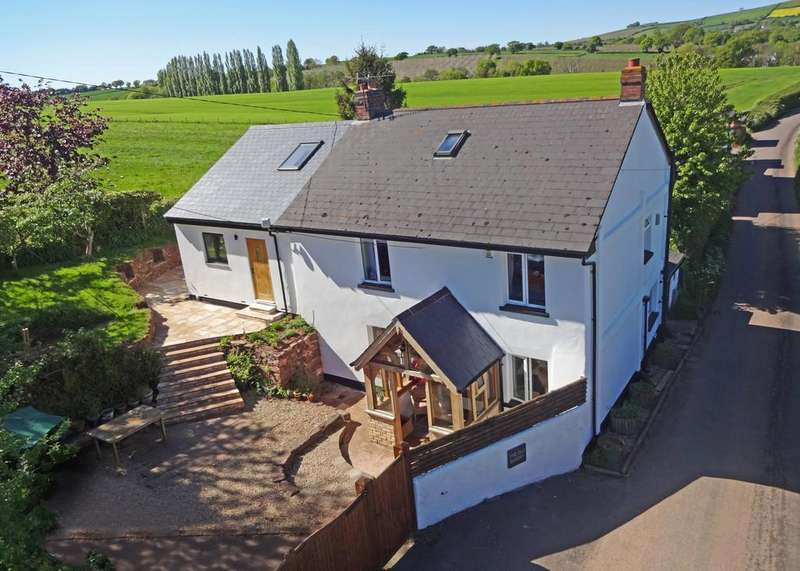 4 Bedrooms Detached House for sale in Shute, Crediton