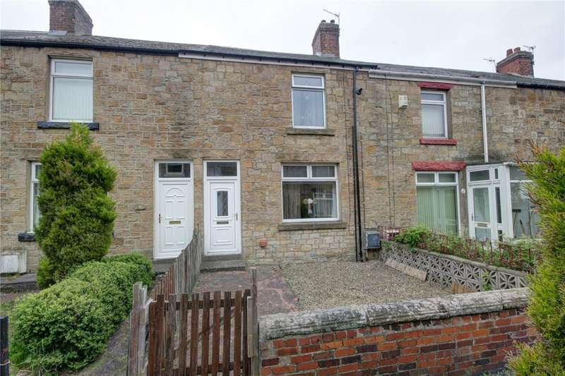 2 Bedrooms Terraced House for sale in Temple Gardens, Templetown, Consett, DH8