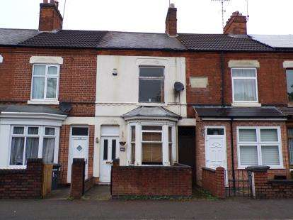 2 Bedrooms Terraced House for sale in Knighton Fields Road West, Leicester, Leicestershire, England