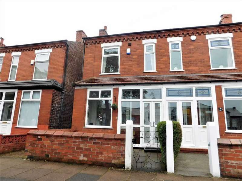 3 Bedrooms Semi Detached House for sale in Madras Road, Edgeley, Stockport