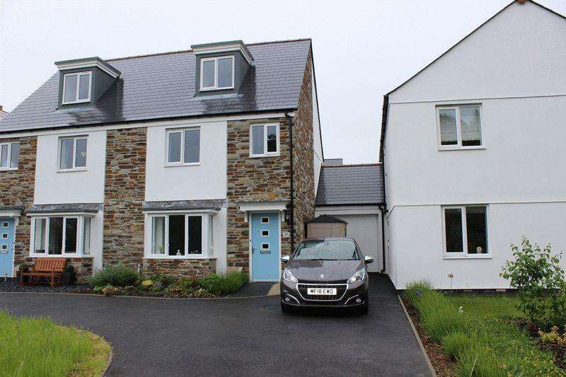 3 Bedrooms Semi Detached House for sale in Pellymounter Road, St Austell