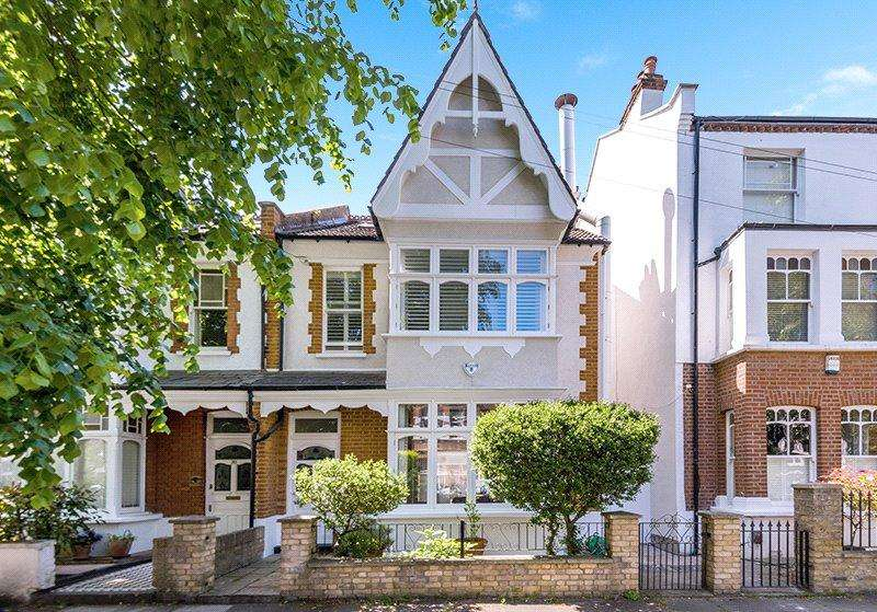 5 Bedrooms Semi Detached House for sale in Ennismore Avenue, Chiswick, London, W4