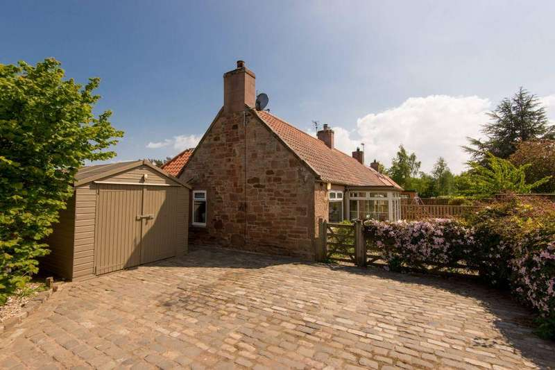 2 Bedrooms End Of Terrace House for sale in End Cottage, Bankrugg, Gifford, EH41 4JS