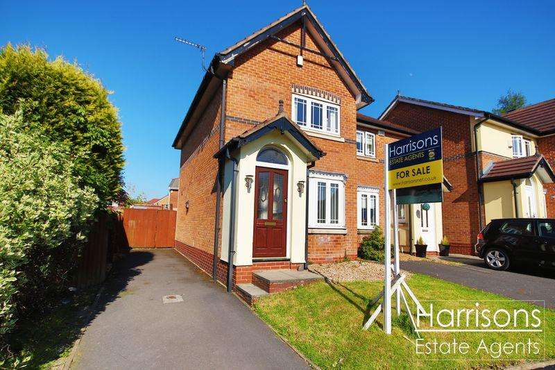 2 Bedrooms Semi Detached House for sale in Carnoustie, Beaumont Rise, Bolton, Lancashire. ***OFFERED WITH NO CHAIN***