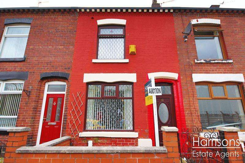 3 Bedrooms Terraced House for sale in Minnie Street, Deane, Bolton, Lancashire.