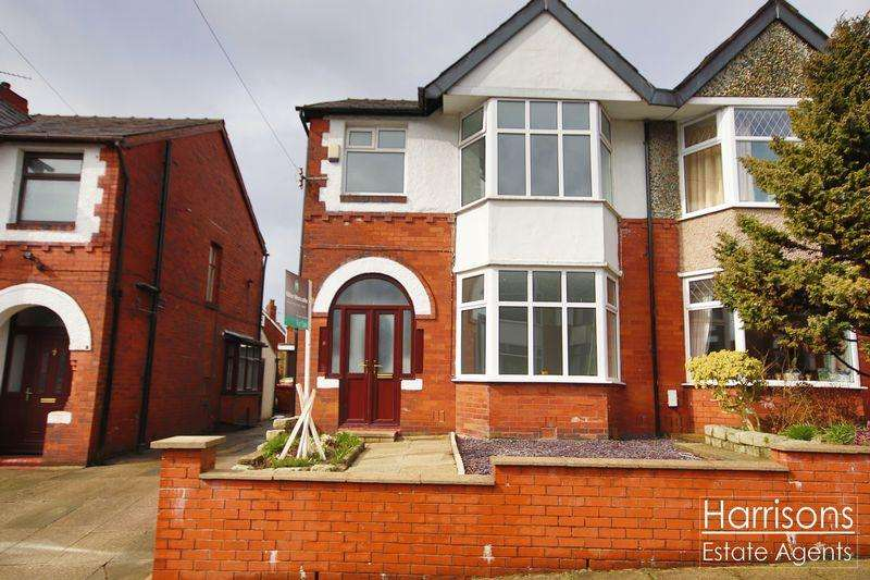 3 Bedrooms Semi Detached House for sale in Woodsley Road, Heaton, Bolton, Lancashire. ***OFFERED WITH NO CHAIN***