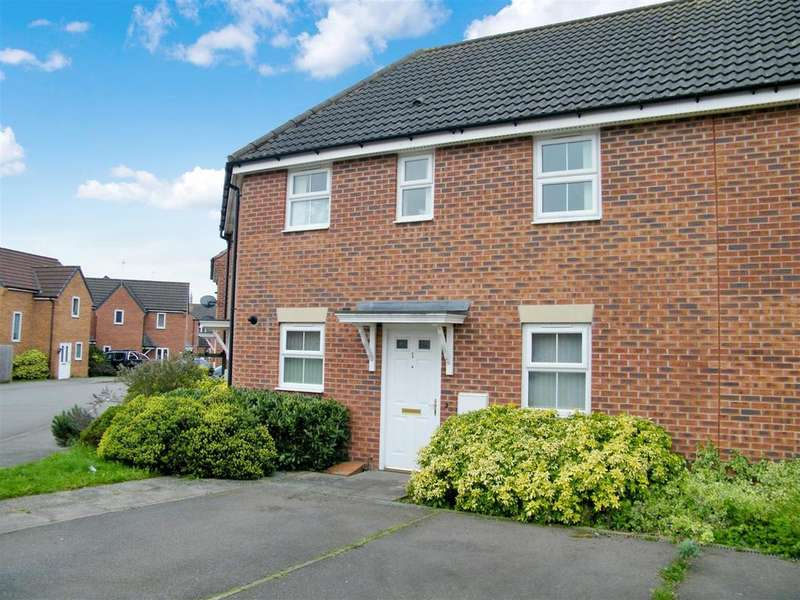 2 Bedrooms Apartment Flat for sale in Hardwicke Close, Grantham