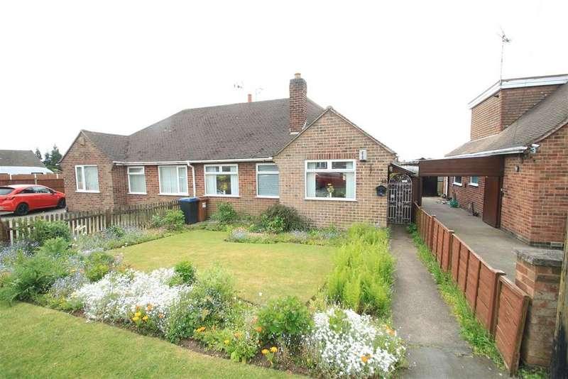 2 Bedrooms Semi Detached Bungalow for sale in Doctors Fields, Earl Shilton